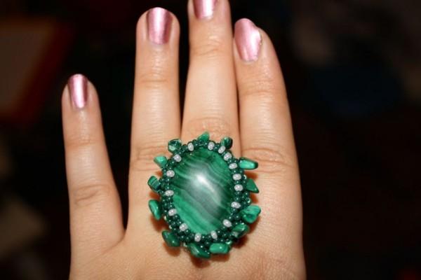 кольцо из малахита3