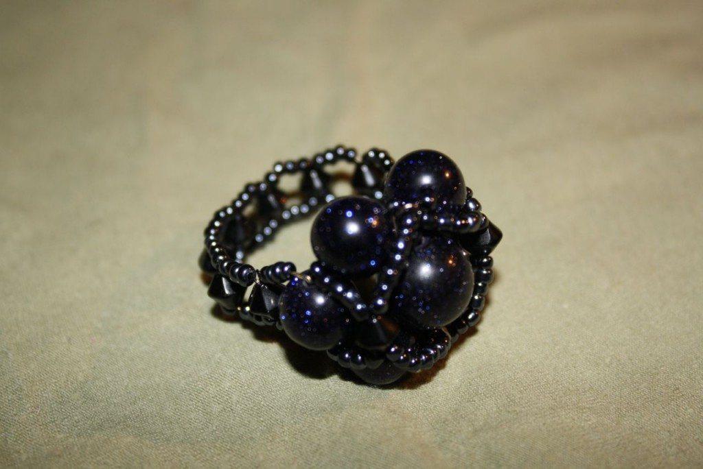 Кольца из Авантюрина