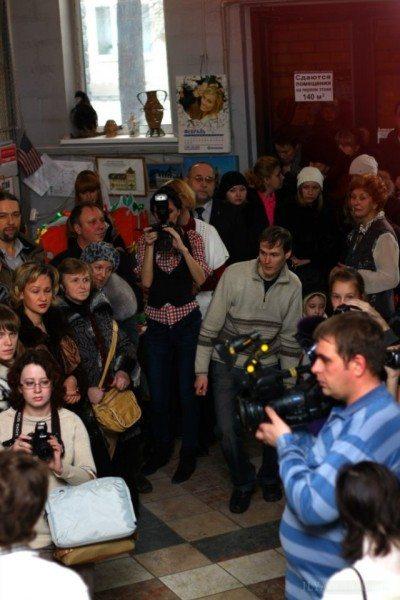СМИ освещает ярмарку рукоделия