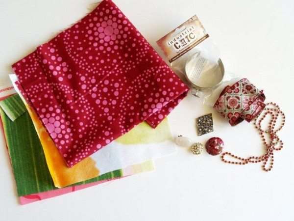 материалы для браслета из ткани