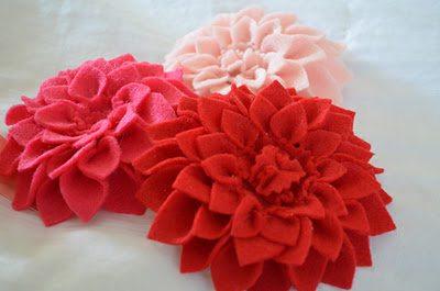 цветы брошки