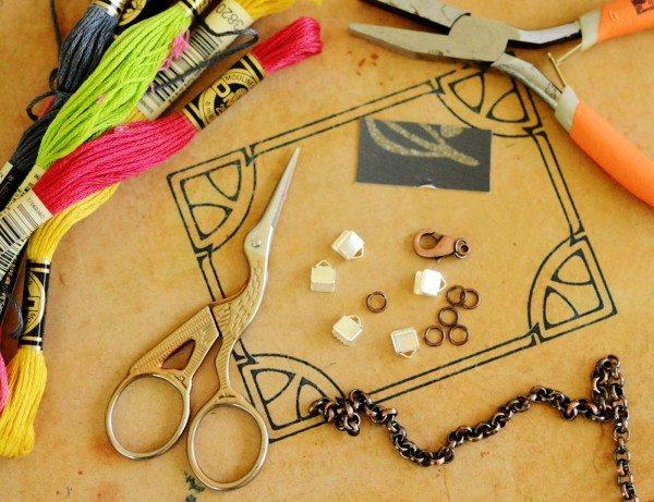 Инструменты для изготовления браслета