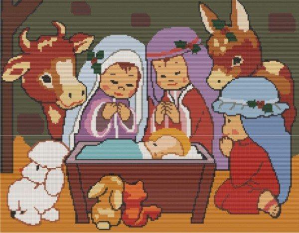 Рождество вышивка бисером схема скачать бесплатно