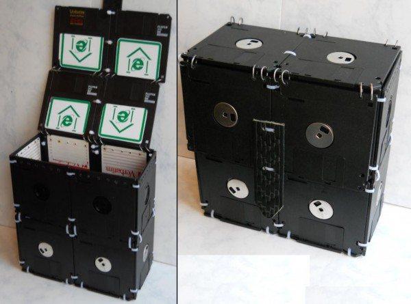 сумка из дискет