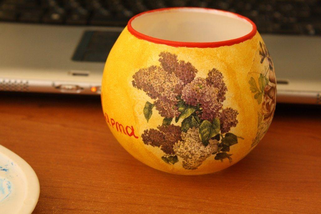 мини ваза на 8-е Марта