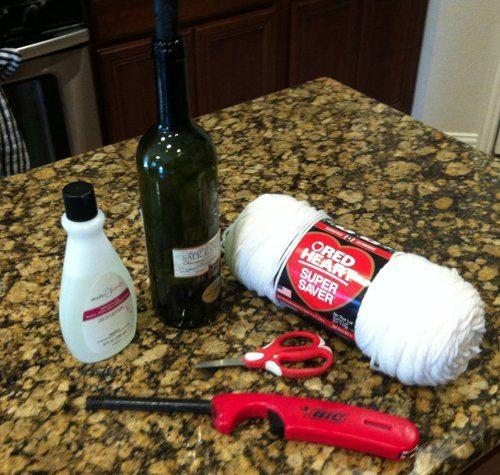 инструменты для стакана из бутылки