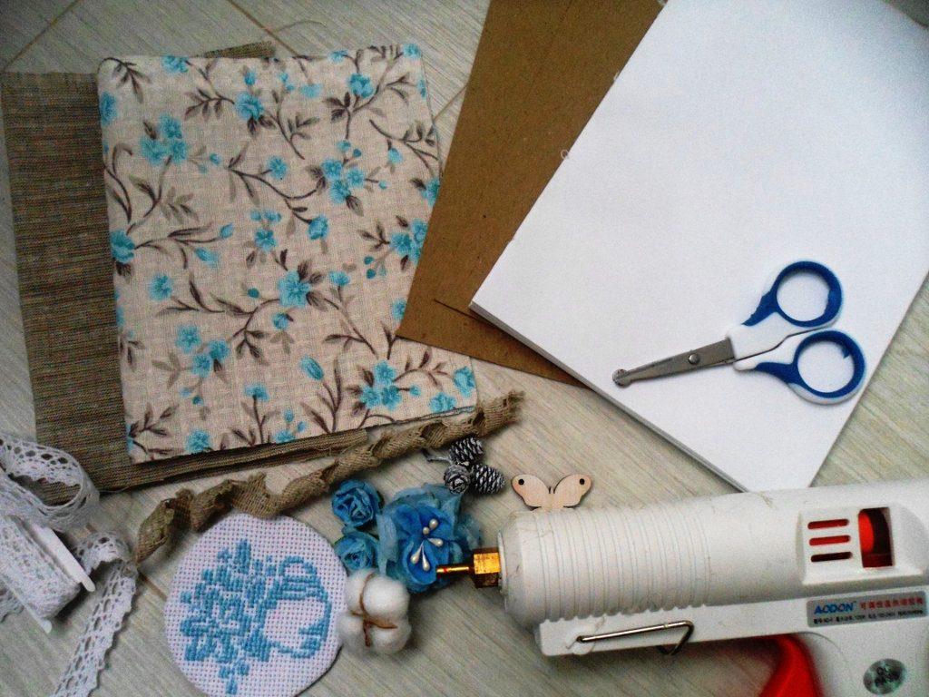 Материалы для изготовлению блокнота