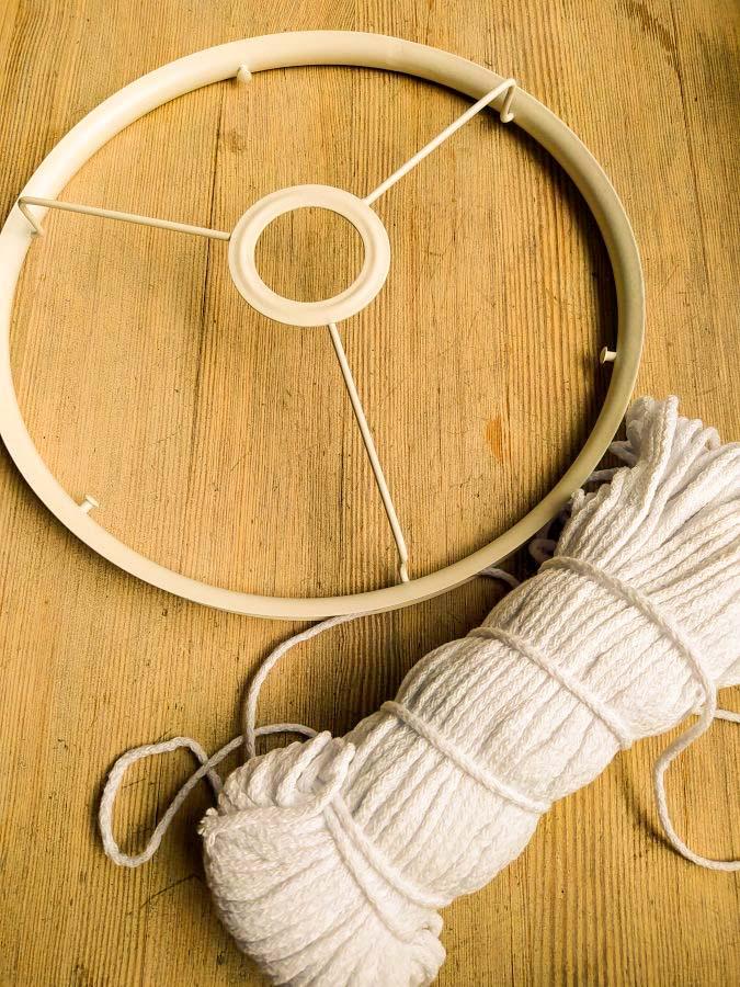 каркас для абажура и шнур
